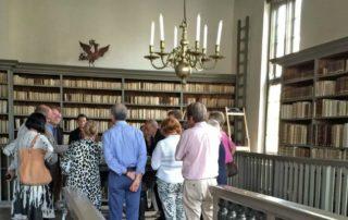 Mensen in de Bibliotheca Thysiana