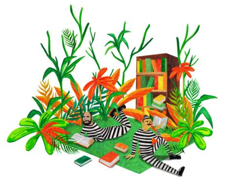 Paula Drewes – De gevangenisbibliotheek in Nederland